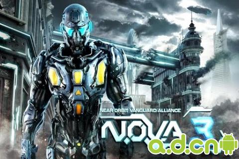 近地軌道防禦3 免驗證版(含資料包) N.O.V.A. 3 – Near Orbit v1.0.7-Android射击游戏免費遊戲下載