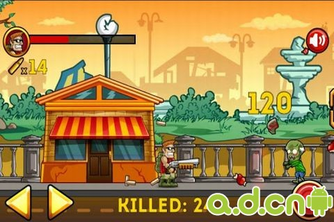殭屍大戰 Zombie War v1.9-Android益智休闲免費遊戲下載