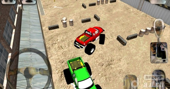 3D怪物卡車停車場Monster Truck Parking v1.0-Android益智休闲免費遊戲下載