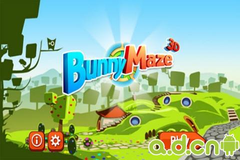兔子迷宮大冒險 Bunny Maze 3D v1.2.5-Android益智休闲類遊戲下載