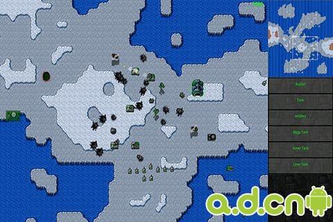 鐵鏽戰爭完整版Rusted Warfare – RTS Strategy v0.95-Android策略塔防免費遊戲下載