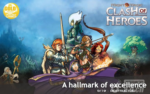 魔法門:英雄交鋒Might & Magic Clash of Heroes v1.2-Android策略塔防免費遊戲下載