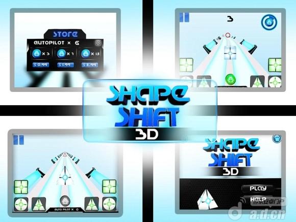 變形跑酷 Shape Shift 3D v1.2-Android益智休闲免費遊戲下載