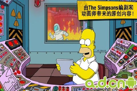 辛普森一家之Springfield The Simpsons: Tapped Out v4.5.2-Android模拟经营類遊戲下載