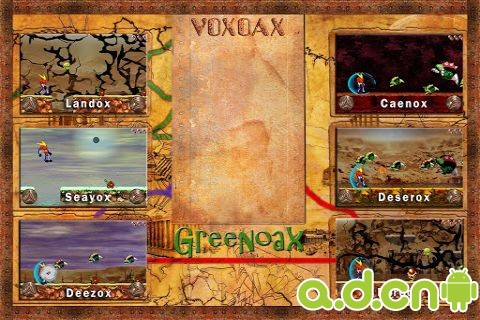 VOX大戰OAX v1.02,VOX vs OAX – Free Kids Game