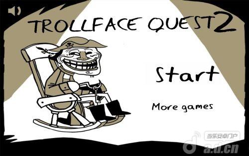 史上最賤暴走遊戲 2 Trollface Quest 2 v1.0.7-Android冒险解谜免費遊戲下載