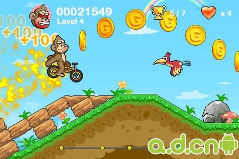 瘋狂小輪自行車2 v1.1.4,BMX Crazy Bike 2-Android益智休闲遊戲下載