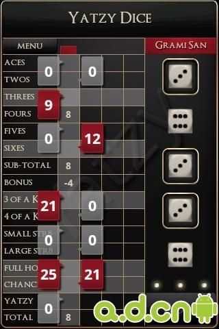 骰子挑戰 v1.3.3,Yatzy Dice Challenge