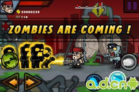 殺戮都市 Zombie Terminator v1.04-Android射击游戏類遊戲下載