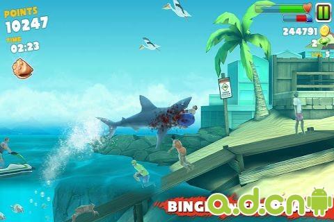 飢餓的鯊魚進化(含數據包) Hungry Shark Evolution v1.7.4-Android动作游戏遊戲下載
