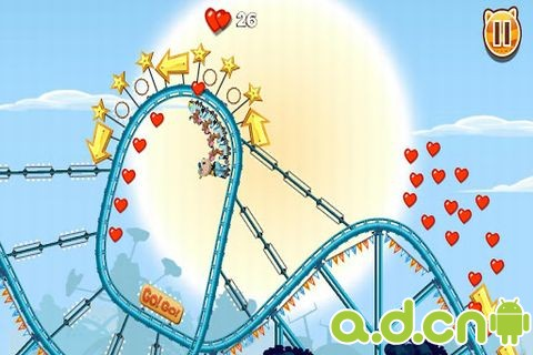 動物過山車 v1.0.4,Nutty Fluffies Rollercoaster