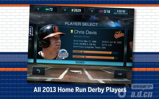 大聯盟全壘打大賽(含資料包) MLB.com Home Run Derby v1.3.149879-Android体育运动免費遊戲下載