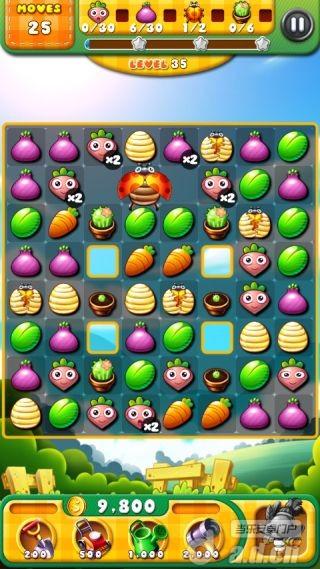 狂熱的花園 Garden Mania v1.1.9-Android益智休闲類遊戲下載