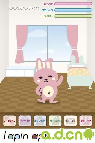 寵物兔子 Lapin app v7.0-Android养成游戏免費遊戲下載