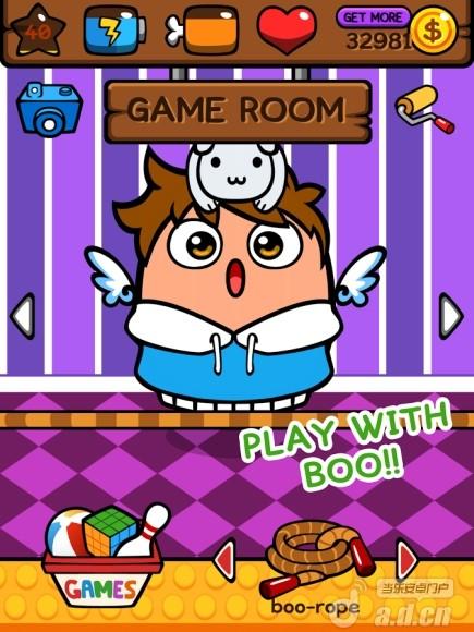 虛擬寵物 MyBoo v1.7-Android养成游戏類遊戲下載
