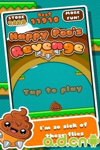 便便復仇 v1.1,Happy Poo's Revenge-Android益智休闲遊戲下載