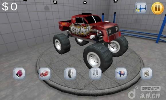 憤怒的怪物卡車 Angry Monster Truck v11.17-Android竞速游戏類遊戲下載