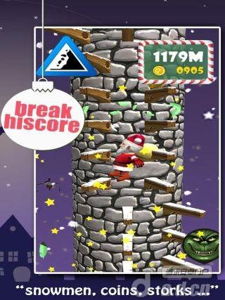 聖誕老人跳3D Santa Jump 3D vSJ201312170-Android益智休闲類遊戲下載