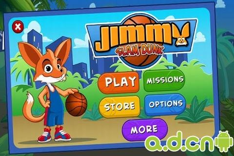 吉米灌籃 Jimmy Slam Dunk v1.0.9-Android体育运动免費遊戲下載