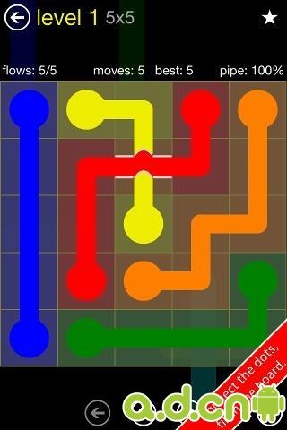 彩球連接:橋 Flow Free: Bridges v1.6-Android益智休闲免費遊戲下載