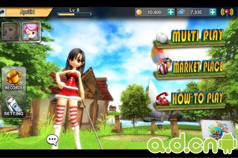 安卓体育运动游戏《RU高尔夫 RU Golf》