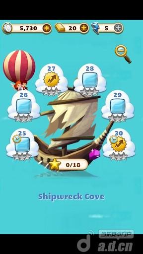 寶石迷域 Jewel Mania v1.1.9-Android益智休闲免費遊戲下載