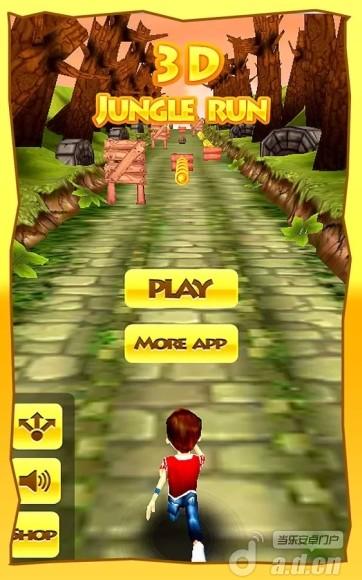 叢林奔跑 Jungle Runner: Racing Game v1.0-Android动作游戏免費遊戲下載