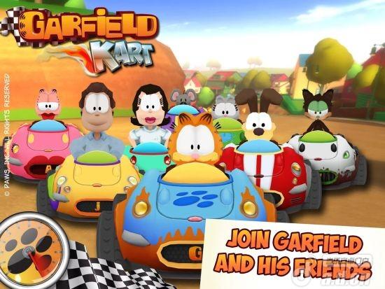 加菲貓卡丁車修改版(含數據包) Garfield Kart v1.02-Android竞速游戏類遊戲下載