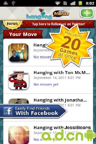 拼字手游 v4.88,Hanging With Friends-Android益智休闲遊戲下載