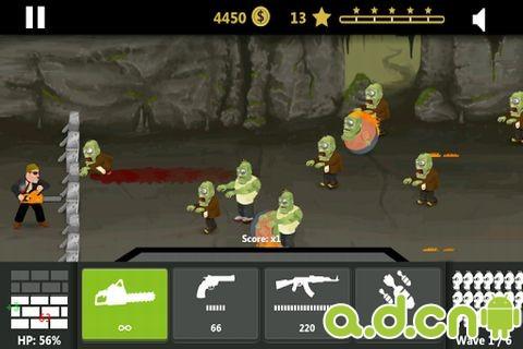 漢克:殭屍獵人 Hank: Zombie Hunter FREE v1.7-Android策略塔防免費遊戲下載