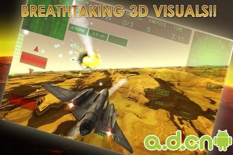 霹靂空戰 Fractal Combat v1.5.0.0-Android飞行游戏免費遊戲下載