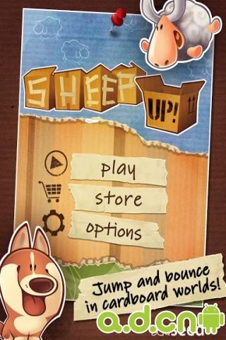 是公羊就上一百層 v1.03,Sheep Up!-Android益智休闲遊戲下載