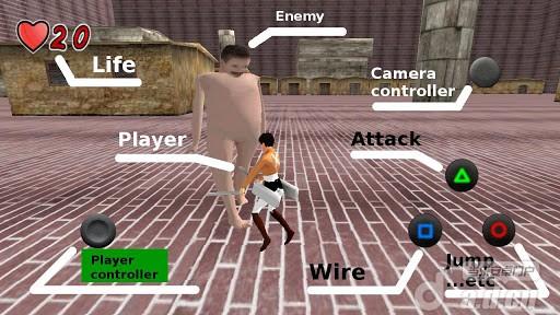 進擊的巨人:反擊之刃 v1.1_截圖