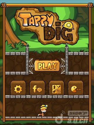 掘金小貓Tappy Dig – A Great Adventure v1.0.1-Android益智休闲類遊戲下載
