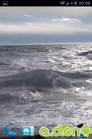 唯美海浪高清动态壁纸 3.