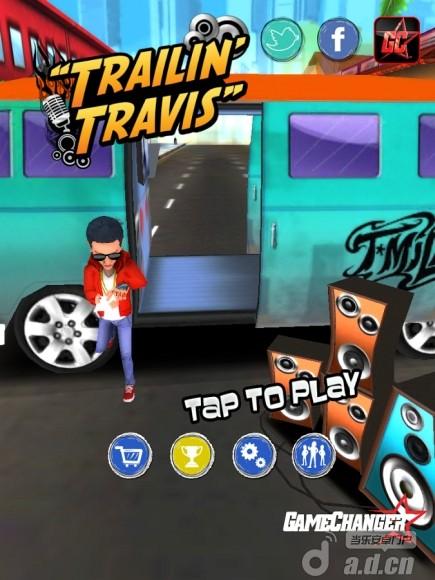 巨星跑酷 Trailin' Travis v2-Android益智休闲免費遊戲下載