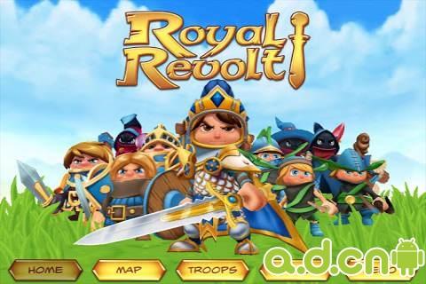 小王子復國戰(含數據包) Royal Revolt! v1.6.1-Android策略塔防遊戲下載