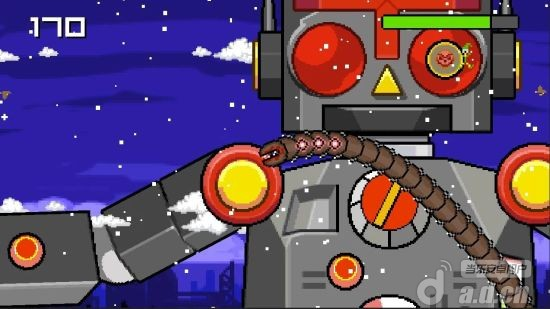 超級蠕蟲大戰聖誕老人Super Mega Worm Vs Santa Saga v1.1.2-Android益智休闲類遊戲下載