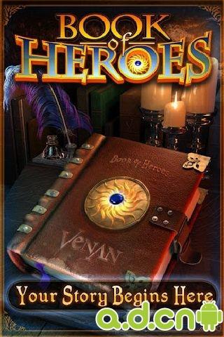 書中英雄 Book Of Heroes v2.0.0-Android角色扮演類遊戲下載