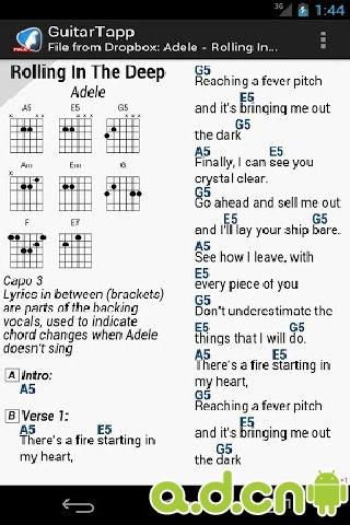 吉他谱和和弦guitartapp tabs & chords v2.9.
