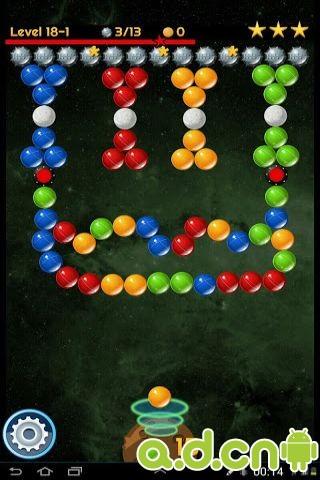 太空泡泡射擊 Space Bubble Shooter v1.91-Android益智休闲類遊戲下載