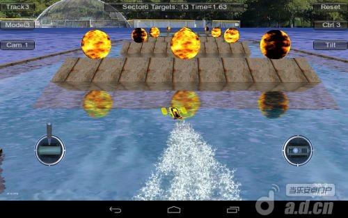 RC賽艇 精簡版 Absolute RC Boat Racing v1.20.0-Android竞速游戏免費遊戲下載