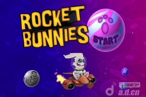 火箭兔子 修改版 Rocket Bunnies v1.2.2-Android益智休闲免費遊戲下載