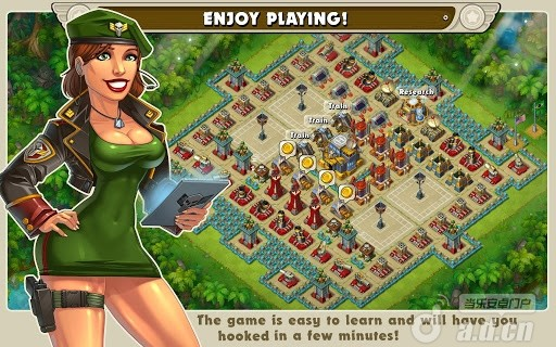 叢林激戰 Jungle Heat v1.2.7-Android策略塔防免費遊戲下載