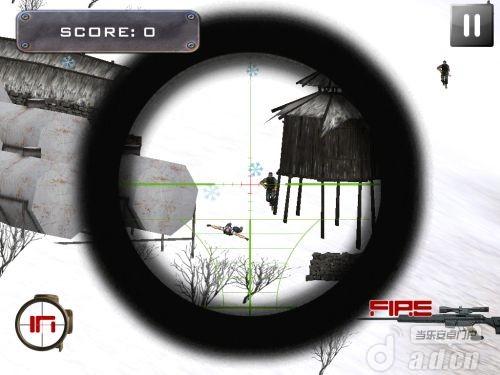 北極狙擊手 Arctic Sniper Mountain War v1.0-Android射击游戏免費遊戲下載