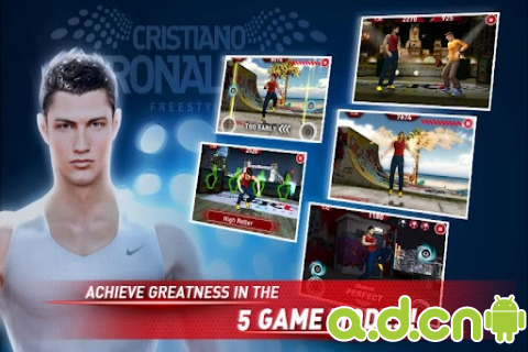 《小小罗足球 Cristiano Ronaldo Freestyle》