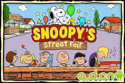 史努比之街(含數據包) Snoopy's Street Fair v1.1.0-Android模拟经营免費遊戲下載