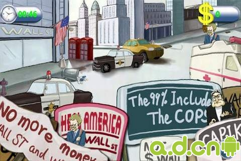 攻占華爾街 Occupy Wall Street v1.0.04-Android益智休闲類遊戲下載