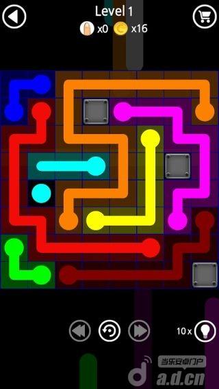 方塊連線 Flow Line: Block v1.0-Android益智休闲免費遊戲下載