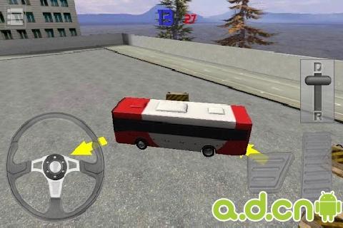 《3D巴士停车 Bus Parking 3D》
